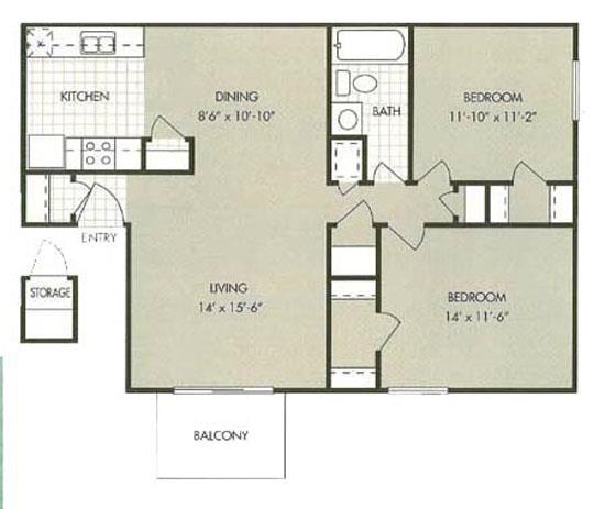 Apartments In Bossier City La: Green Acres Village Apartments
