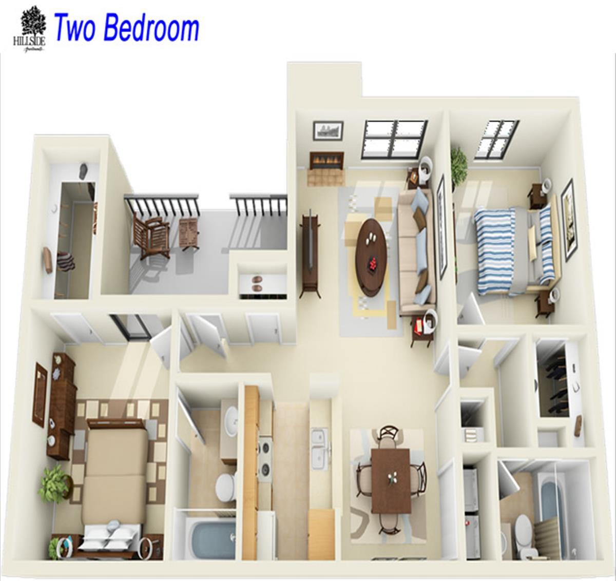 Hillside Apartments Apartment In Shreveport La