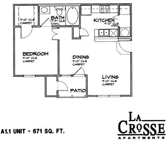 Apartment In Bossier City, LA