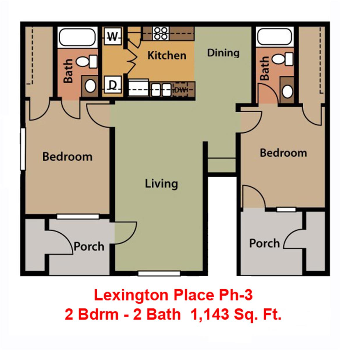 Lexington Place Apartments Bossier City La
